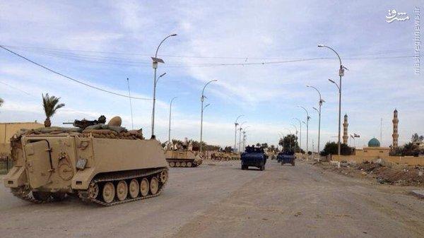 لشگر کماندویی ارتش عراق در فلوجه+عکس