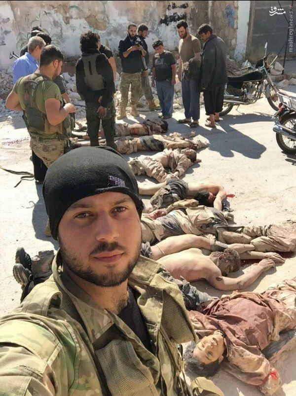ذبح اسرای داعش توسط ارتش آزاد میانه رو!+عکس