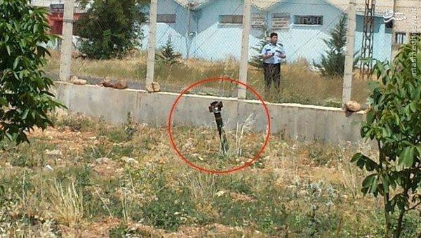 داعش دو موشک به ترکیه شلیک کرد+عکس