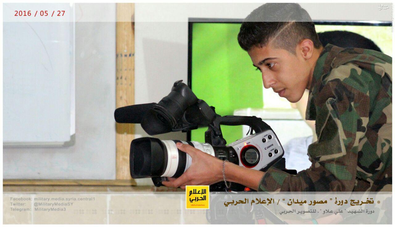 برگزاری دوره آموزش تبلیغات جنگی حزب الله+عکس