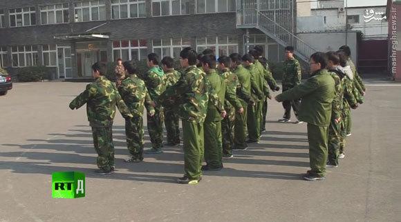کمپهای ترک اعتیاد اینترنتی در چین