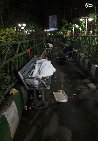 کارتنخوابی اجباری در اطراف بیمارستانهای دولتی +تصاویر