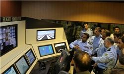 افتتاح شبیه ساز جنگنده اف 5 در پایگاه تبریز