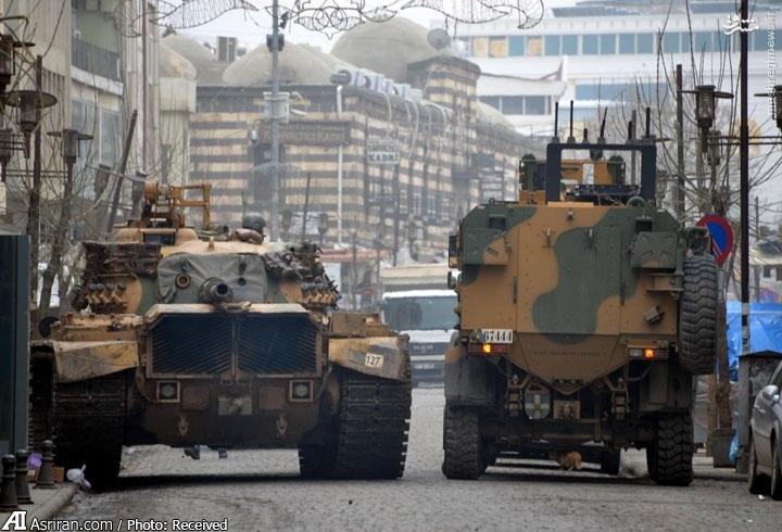 تصاویر تکان دهنده ماهواره ای از شهر کردنشین ترکیه+عکس
