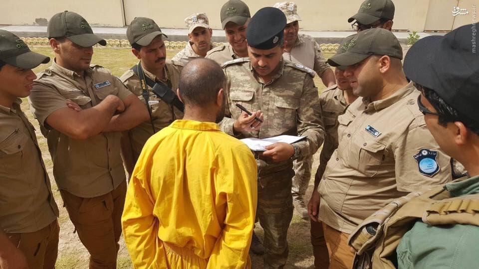 دستگیری تروریستهای داعش در اردوگاه پناهجویان فلوجه+عکس