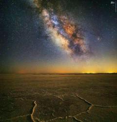 عکس/ نمایی زیبا از کهکشان راه شیری در ایران