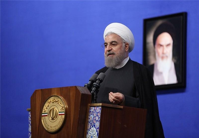 روحانی:نباید بهراسید و عقب نشینی کنید، مطمئن باشید در نهایت پیروزیم