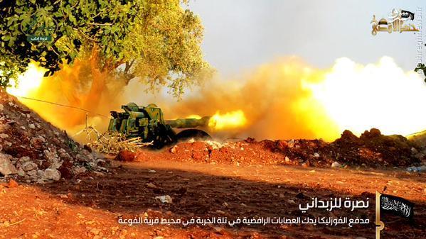 ترور ناکام مفتی شرعی جیش الفتح در ادلب+عکس