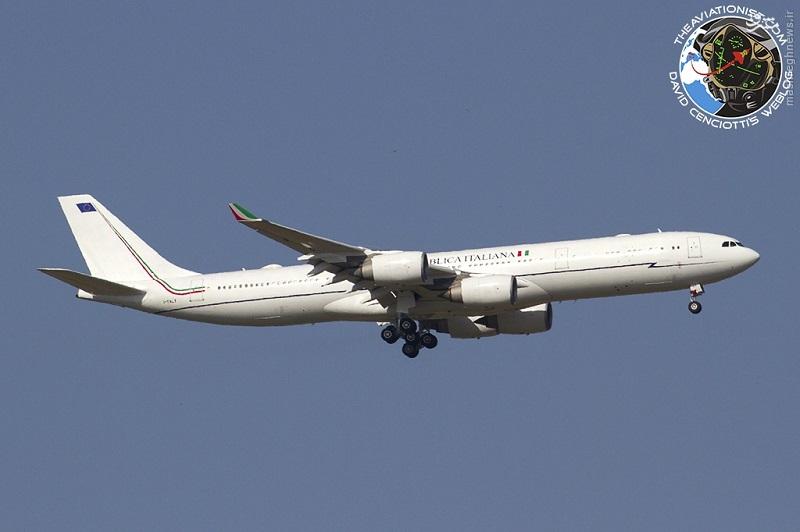 عکس/ هواپیمای کرایه ای VIP دولت ایتالیا