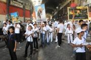 راهپیمایی باشکوه مردم دمشق در روز قدس+فیلم و عکس