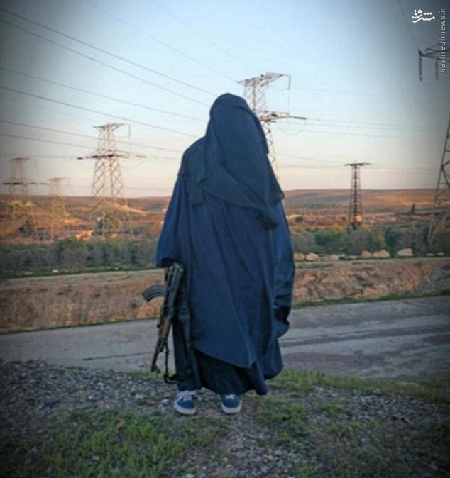 زن انگلیسی برای داعش «عروس» میفرستد +عکس