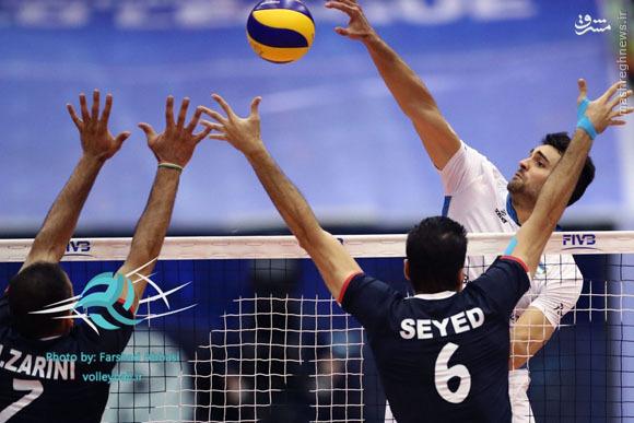 نتیجه زنده و لحظه به لحظه دیدار والیبال ایران و آرژانتین