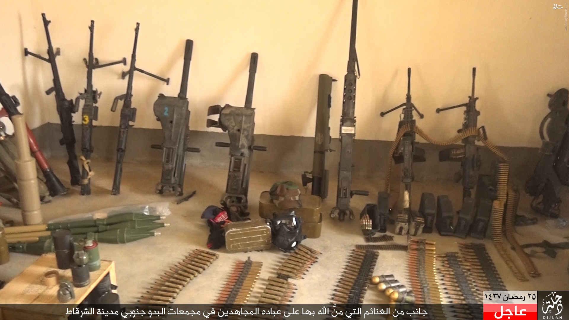 پاتک داعش علیه ارتش عراق در جنوب موصل+عکس