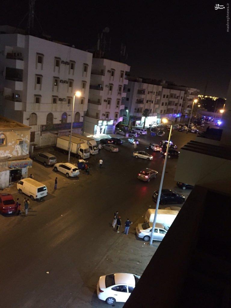 انفجار انتحاری مقابل سفارت آمریکا در عربستان+عکس و فیلم