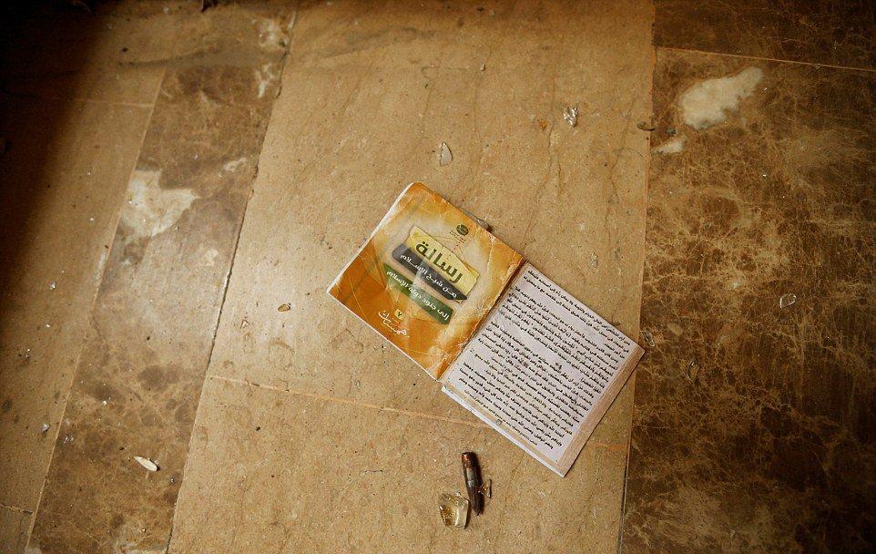 آثار و اشیاء به جا مانده از داعش در فلوجه +عکس