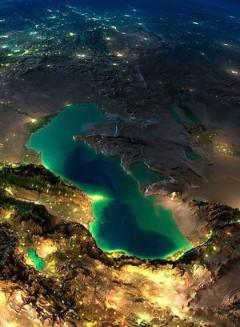 عکس/ دریای خزر از نگاه دوربین ماهواره