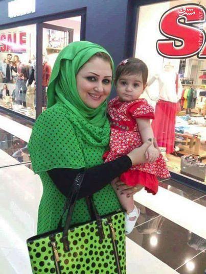 عکس/ آخرین سلفی مادر و کودک در الکراده بغداد قبل از شهادت