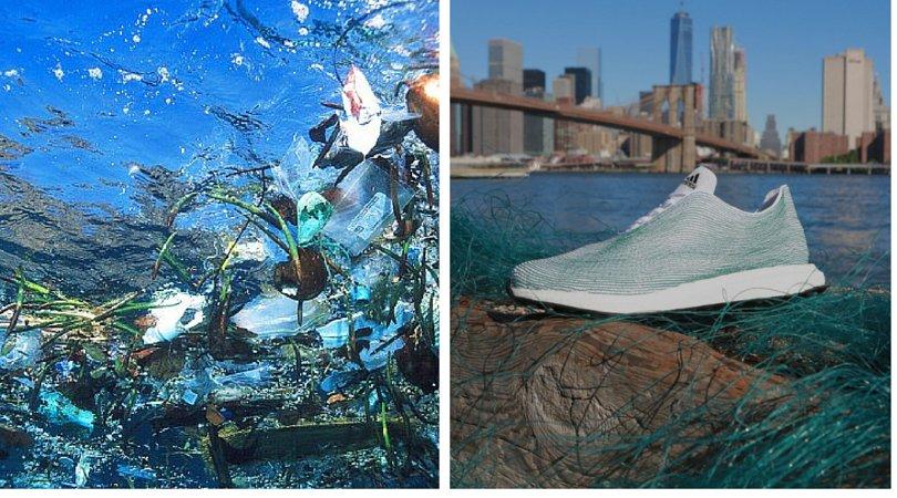 آدیداس از زبالههای اقیانوس کتانی ساخت!