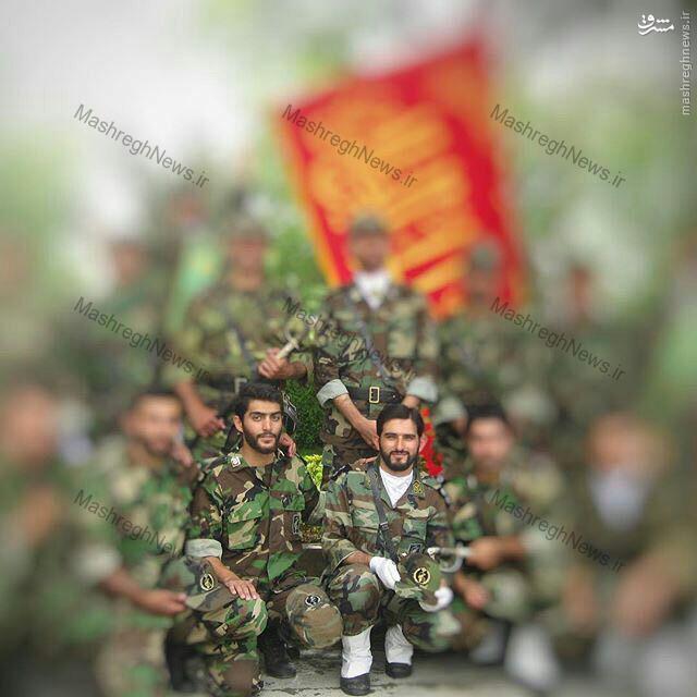 شهید مدافع حرم که تشنه لب به یاران سیدالشهداء پیوست +تصاویر