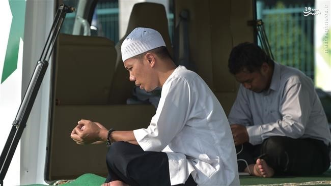 مسجد سیار در اندونزی +عکس