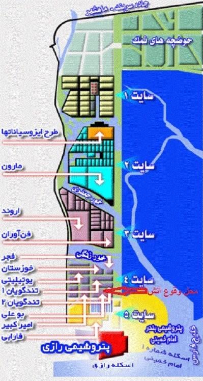 تخلیه 5 مجتمع پتروشیمی خوزستان آغاز شد