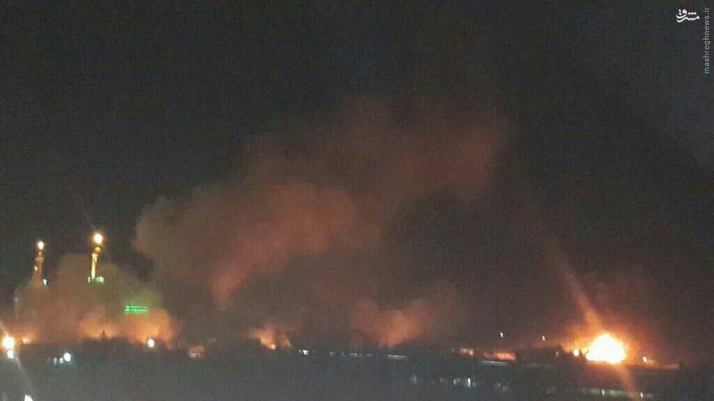 حمله تروریستی انتحاری در شهر بلد در نزدیکی سامرا +عکس