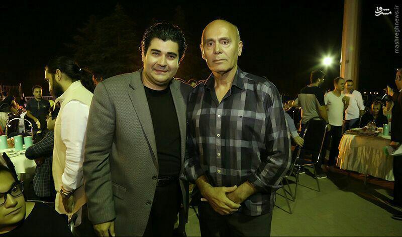 عکس/ تیپ جدید جمشید هاشم پور
