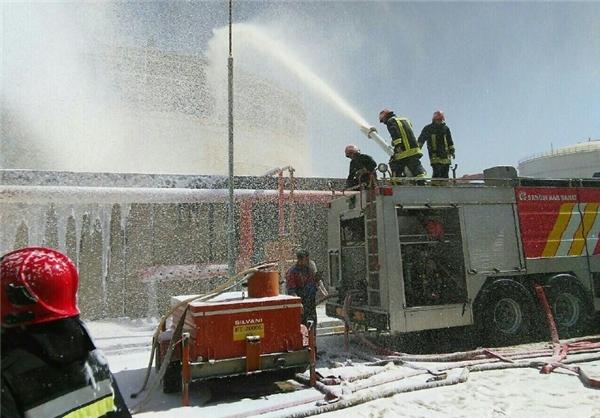 بررسی سه علت حادثه آتش سوزی پتروشیمی بوعلی +عکس