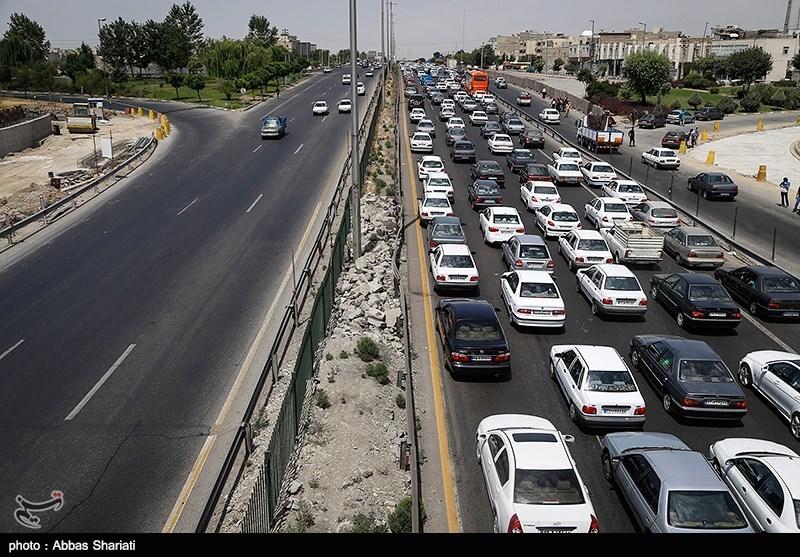 ترافیک شدید در محورهای کندوان و هراز