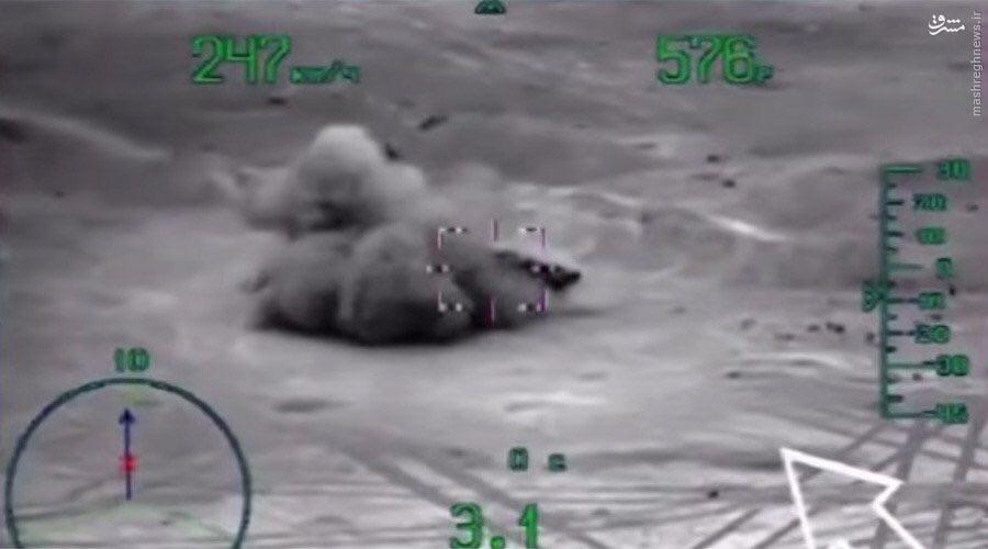 لحظه انهدام بالگرد روسی توسط داعش در سوریه+عکس و فیلم