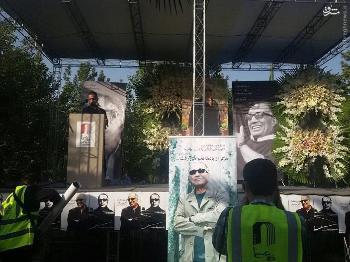مراسم تشییع «کیارستمی» آغاز شد +عکس