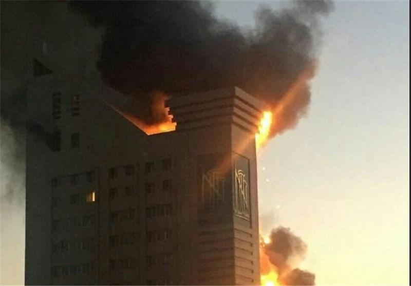 گمانهزنی درباره علت آتشسوزی برج سلمان مشهد