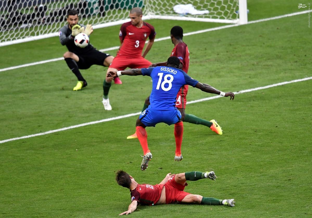 پرتغال با شکست فرانسه قهرمان شد/ شب تلخ و شیرین رونالدو +فیلم