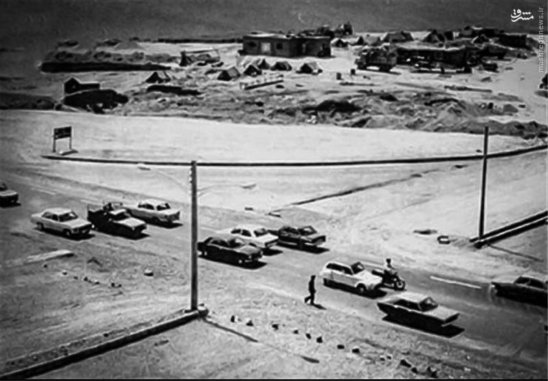 خیابان میرداماد - سال ۱۳۵۴