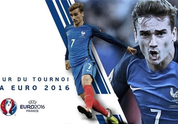 بهترین بازیکن یورو 2016 مشخص شد