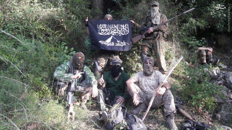 تروریستهای 72 ملت در شمال سوریه+عکس