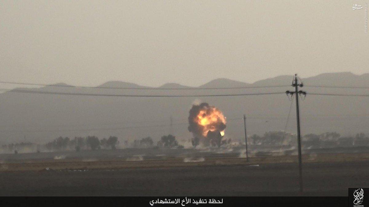 انتحاری داعش در استان صلاح الدین عراق+عکس