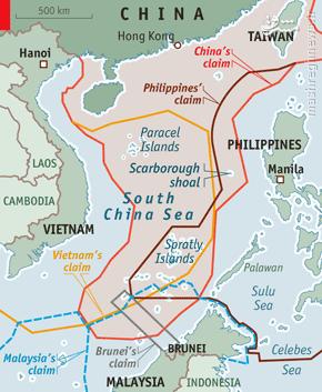 حکم جنجالی دادگاه لاهه در مورد دریای چین جنوبی + نقشه