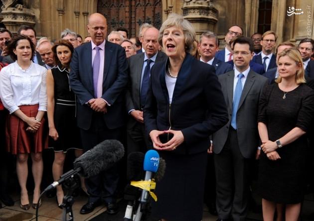 نخست وزیر جدید بریتانیا «تاجگذاری» می کند