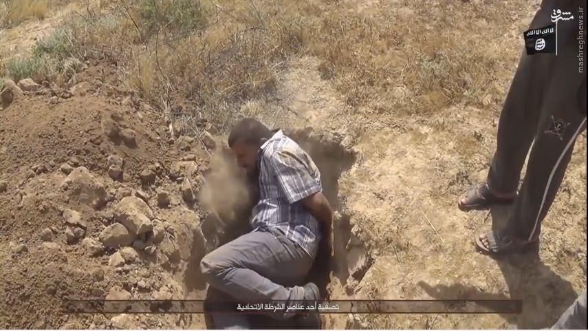 اعدام 7 افسر پلیس عراقی توسط داعش+عکس