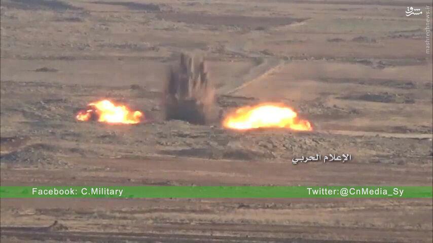 کمین حزب الله علیه تروریستها در درعا+فیلم و عکس