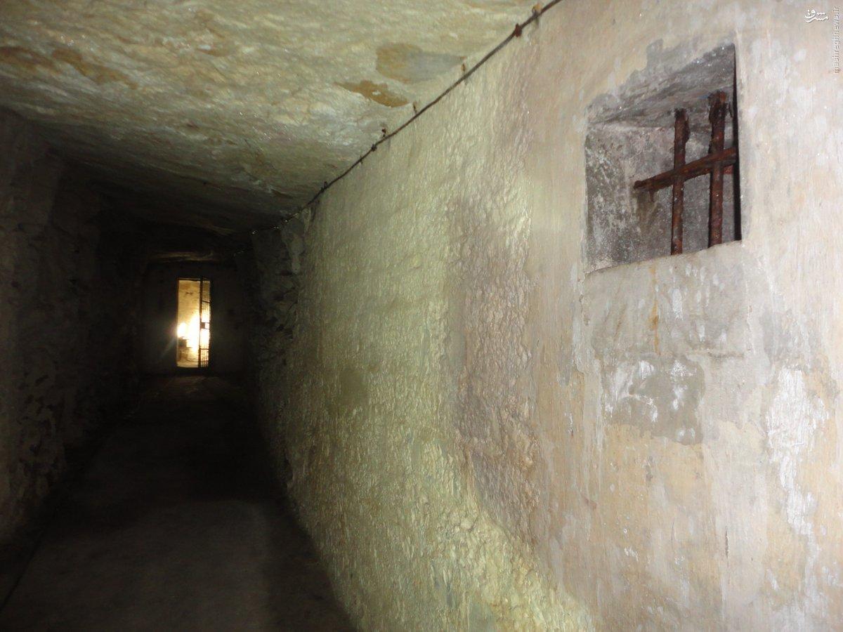 کشف زندان زیرزمینی داعش در جنوب موصل+عکس
