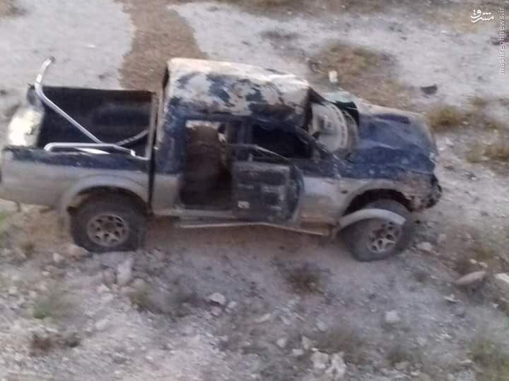 ترور فرمانده ارشد جندالاقصی در ادلب+عکس