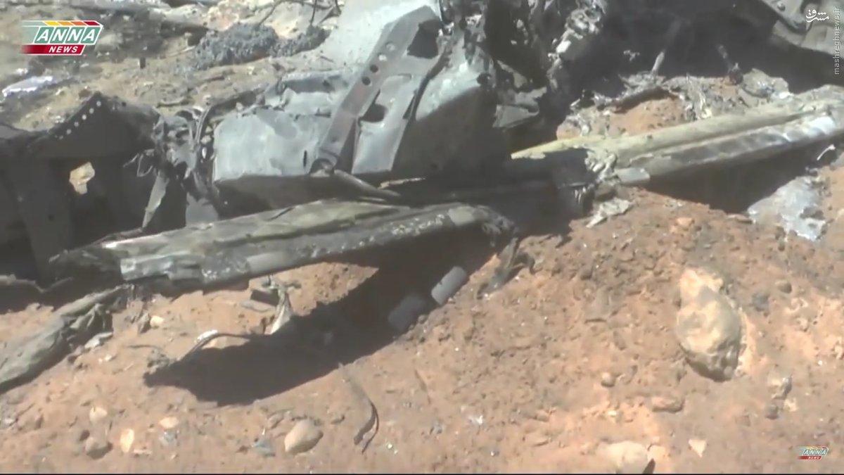 بمباران داعش توسط بمب افکنهای غول پیکر روسی+عکس