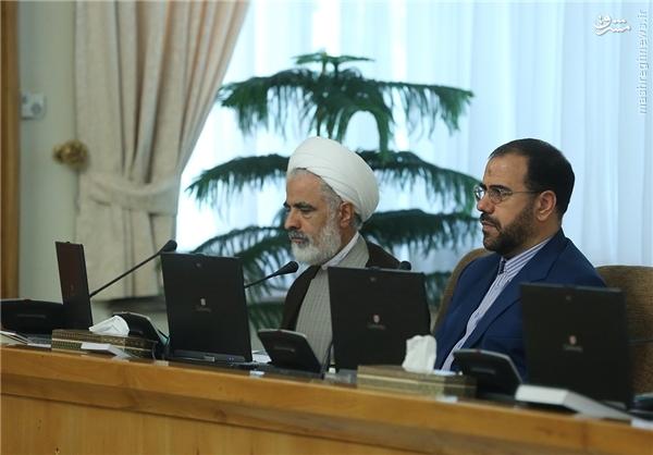 عکس/ معاونین جدید پارلمانی و حقوقی روحانی در جلسه امروز هیات دولت