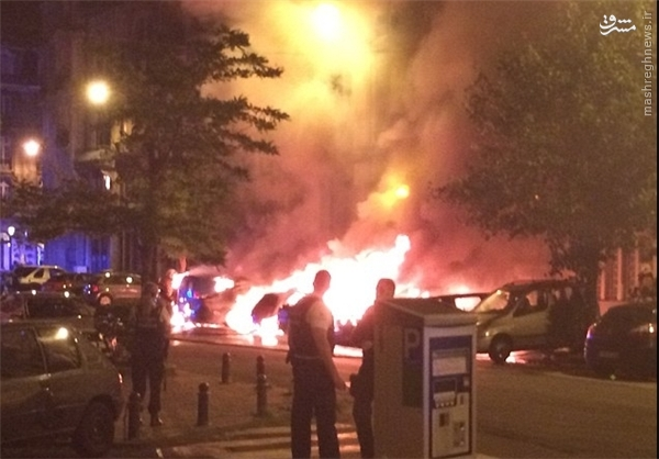 سه انفجار در بروکسل +عکس