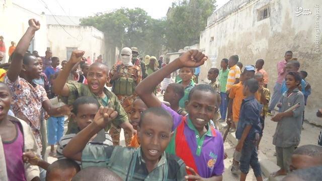 سیطره القاعده بر شهر بندری سومالی+عکس