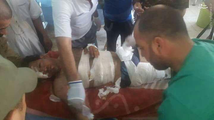 شهادت خبرنگار تلویزیون عراق+عکس