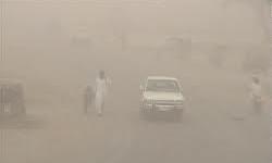 گردوغبار هوای زابل 110 برابر حد مجاز شد +عکس