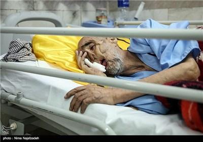 نفس «بابا رجب» به تنگ آمده است +عکس